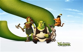 Aperçu fond d'écran Shrek Forever After