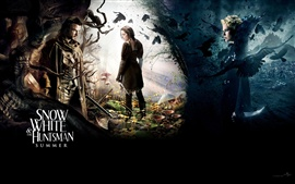 Preview wallpaper Snow White and The Huntsman 2012