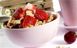 미리보기 배경 화면 딸기 체리 요리 식사