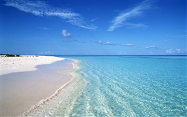Preview wallpaper Summer blue beach wave