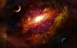 壁紙のプレビュー 超新星爆発