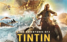 Preview wallpaper The Adventures of Tintin 2011