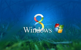 Aperçu fond d'écran Windows 8 Blue Dawn