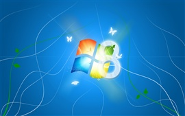 Preview wallpaper Windows 8 dream bliss