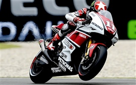 Preview wallpaper Yamaha motorcycle racing