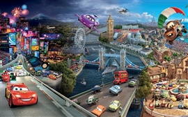 Preview wallpaper 2011 Disney movie Cars 2