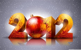 Preview wallpaper 2012 New Year