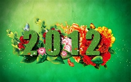 Preview wallpaper 2012 Spring Green
