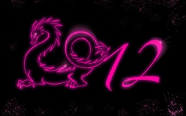 Preview wallpaper 2012 year of the dragon