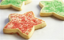 Preview wallpaper Christmas Dessert five-pointed star