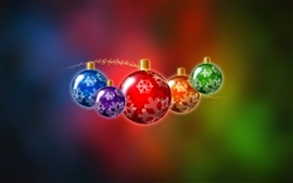 Christmas balls illustration