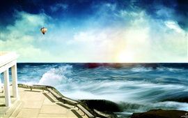 Preview wallpaper Dream charming coastal