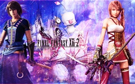 Final Fantasy XIII-2 de largura