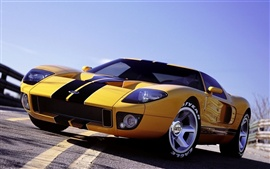 Preview wallpaper Ford GT supercar