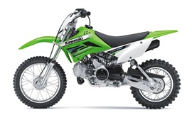 Preview wallpaper Kawasaki motocross KLX110 2012