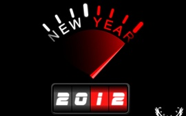 Preview wallpaper New year of 2012