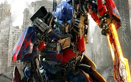 Optimus Prime en Transformers: Dark of The Moon