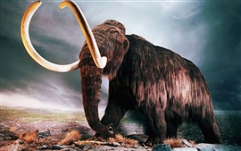 Preview wallpaper Woolly Mammoth