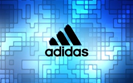 Preview wallpaper Adidas blue