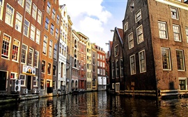 Amsterdam Canal in Venice
