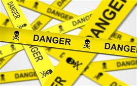 Preview wallpaper Danger warning
