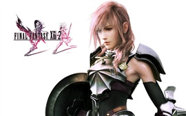 Preview wallpaper Girl in Final Fantasy XIII-2