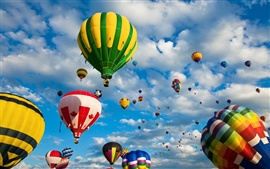 Preview wallpaper Hot air balloon