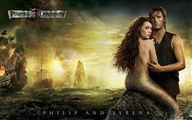 Aperçu fond d'écran Sirène dans Pirates des Caraïbes