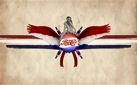 Preview wallpaper Pepsi cola drink girl wings