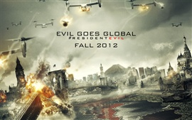 Preview wallpaper Resident Evil: Retribution 2012