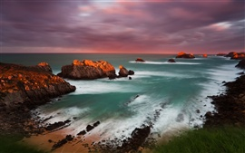 Preview wallpaper Spain Cantabria sunset