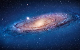 Preview wallpaper The Andromeda Galaxy in space