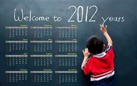 Preview wallpaper Welcome to 2012 years