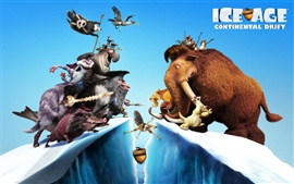 Preview wallpaper 2012 Ice Age 4 HD