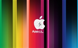 Preview wallpaper Apple Storm