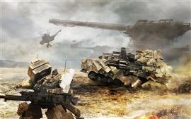 Aperçu fond d'écran Armored Core 5