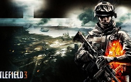 Preview wallpaper Battlefield 3 wide