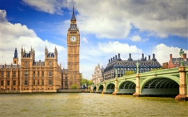 Preview wallpaper Big ben England London city
