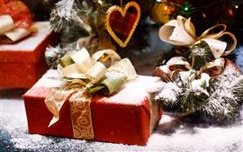 Weihnachten Schnee Geschenke