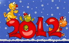 Preview wallpaper Dinosaur Happy 2012