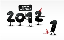 Happy New Year 2012, 2011 a pris fin
