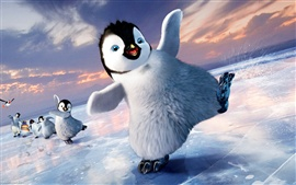 Aperçu fond d'écran Happy feet 2 de large