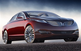 Preview wallpaper Lincoln MKZ car