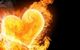L'amour est un feu