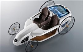 Preview wallpaper Mercedes-Benz concept car