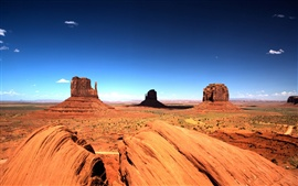 Preview wallpaper Monument Valley nature