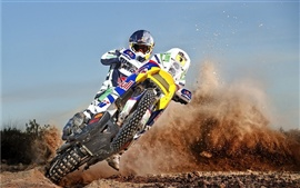 Preview wallpaper Motorcycle cross drift