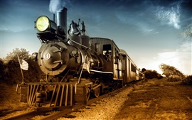 Preview wallpaper Nostalgic steam train