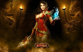 Preview wallpaper Oriental legend of the game beautiful girl