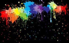 Preview wallpaper Paint splash abstract